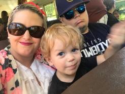 Annual birthday trip to the Wildlife Safari in Winston