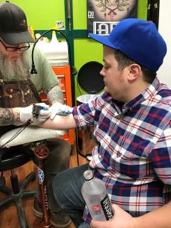 Danny's tattoo
