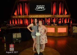 My best friend and I at the Grand Ol' Opry